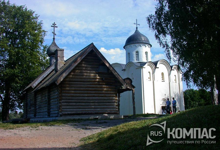 Церковь св. Дмитрия Солунского и Георгиевская церковь