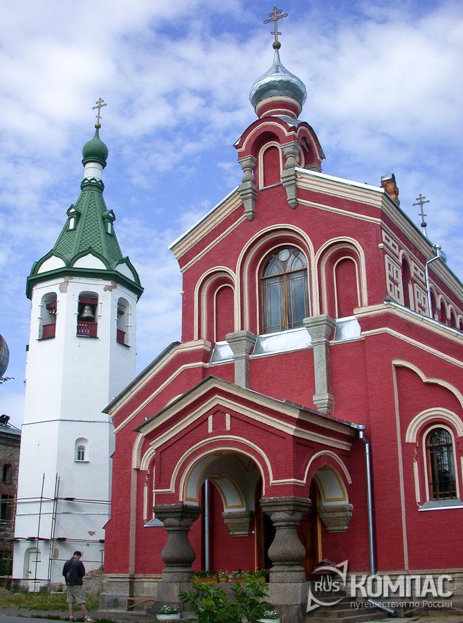 Колокольня Св. Николая Чудотворца и ц. Иоанна Златоуста