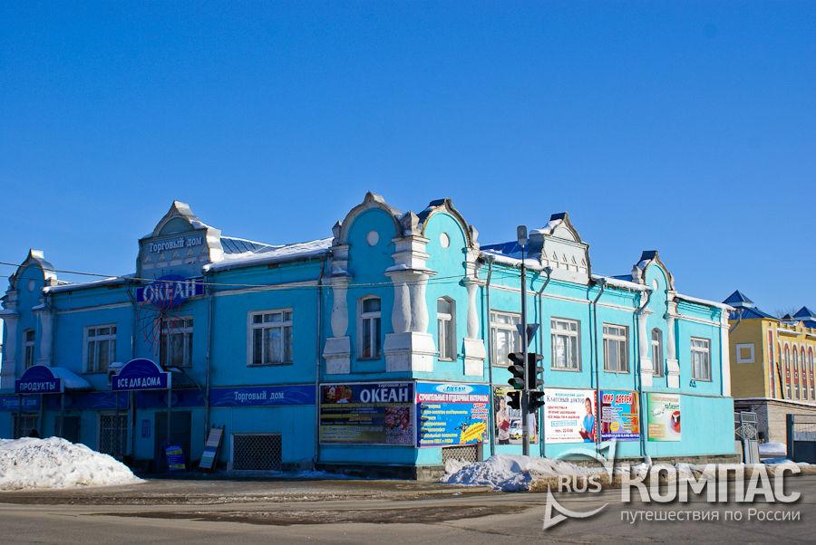 Перекресток улиц Ленина и Советской