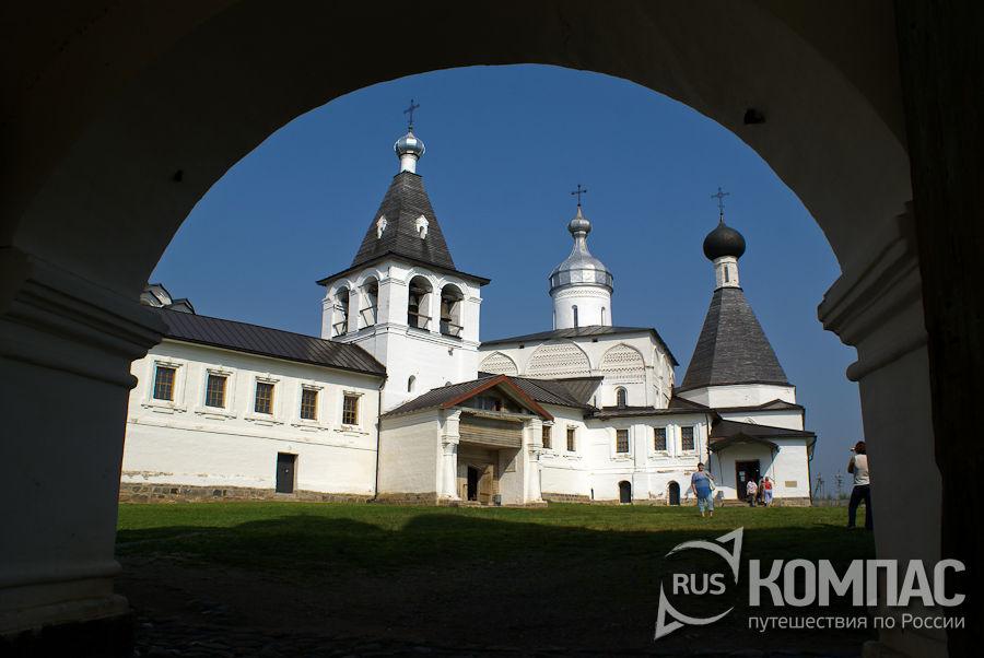 Богородицкий собор в Ферапонтовом-Белозерском Богородице-Рождественском монастыре