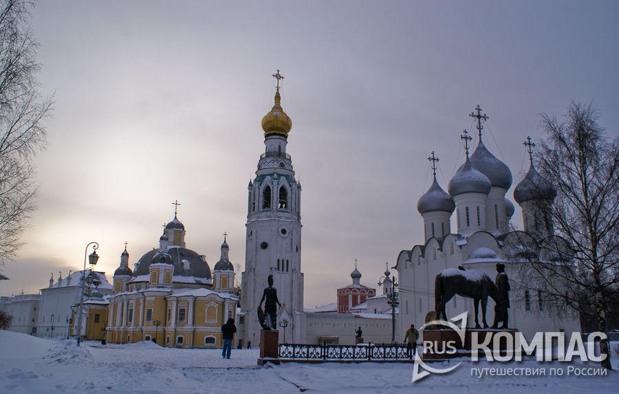 Воскресенский собор, Софийский собор и колокольня Софийского собора