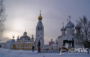 Вологда зимой