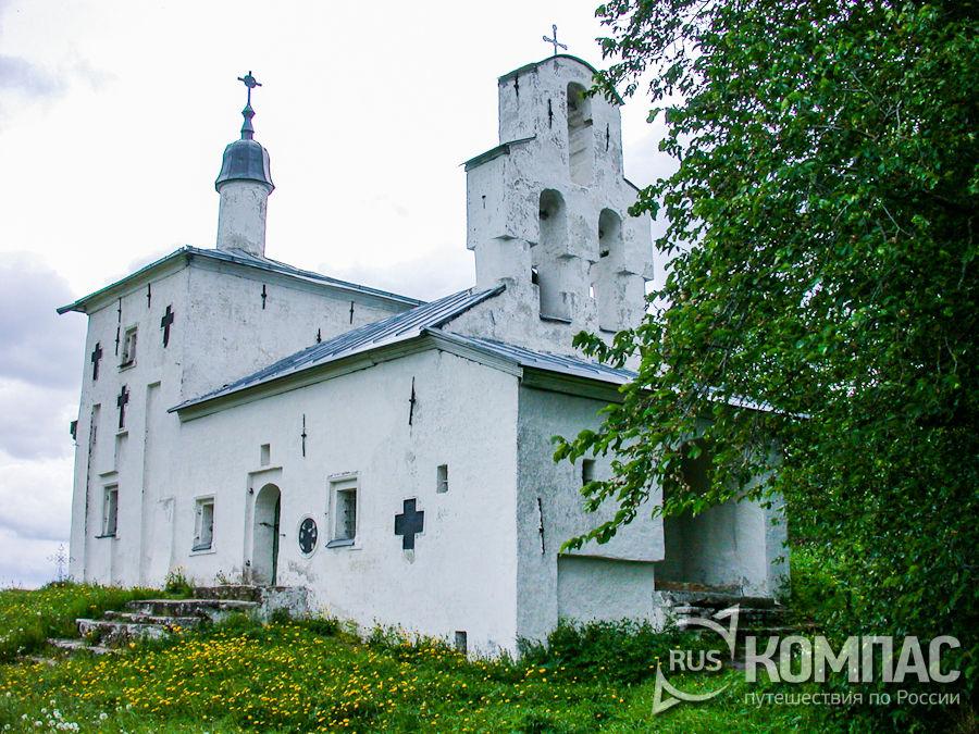 Никольская церковь на Труворовом городище