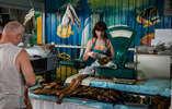 Рыбный ряд татар-базара