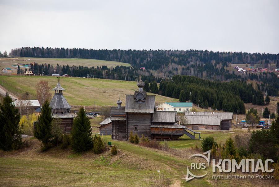 Музей деревяного зодчества Хохловка