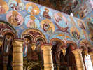 Роспись на аркаде в церкви Спаса на Сенях