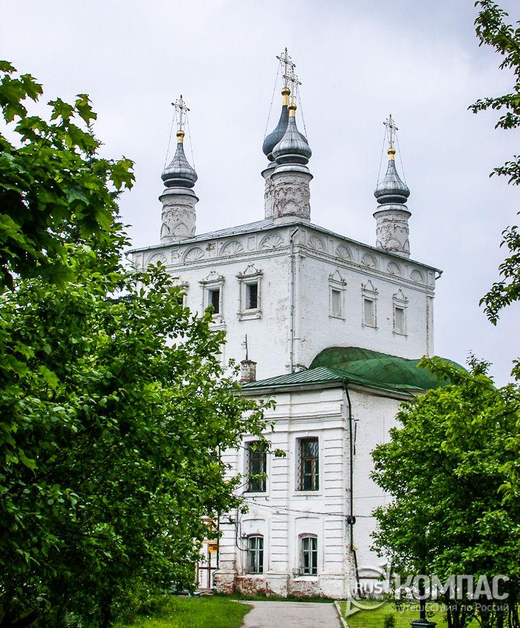Всехсвятская церковь Горицкого монастыря