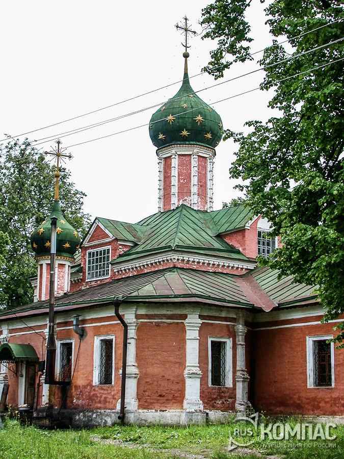 Введенская церковь Федоровского монастыря