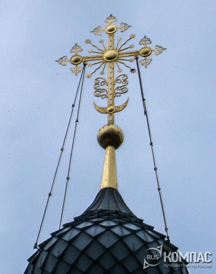 Крест Благовещенской церкви