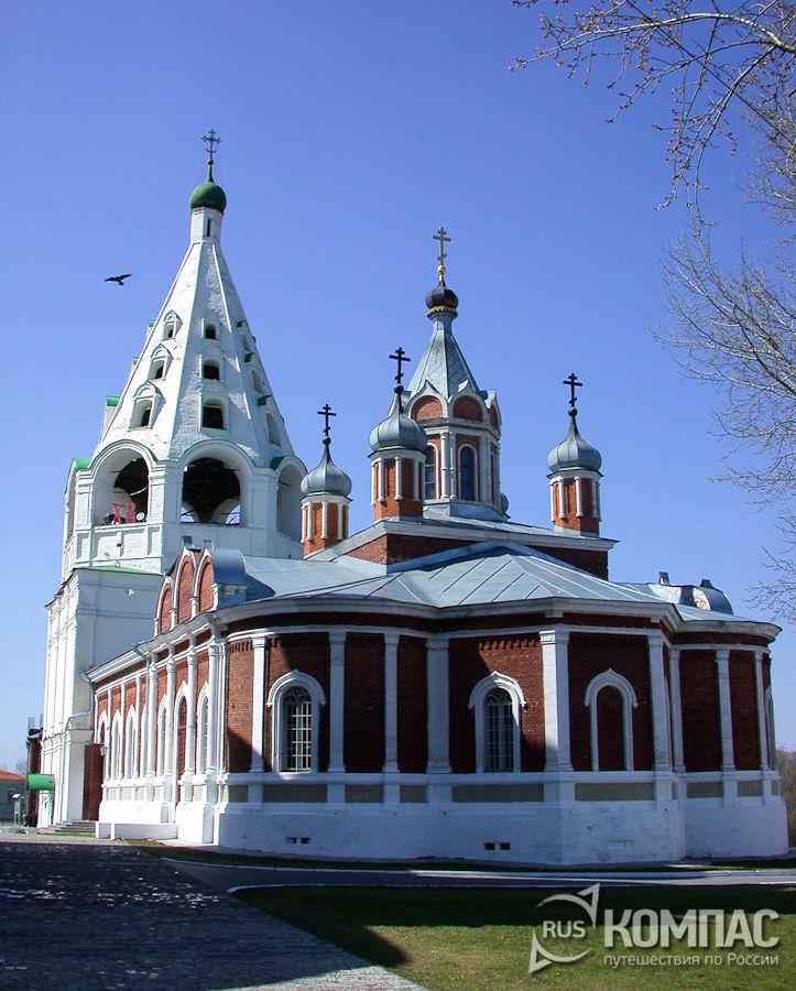 Тихвинская церковь с колокольней
