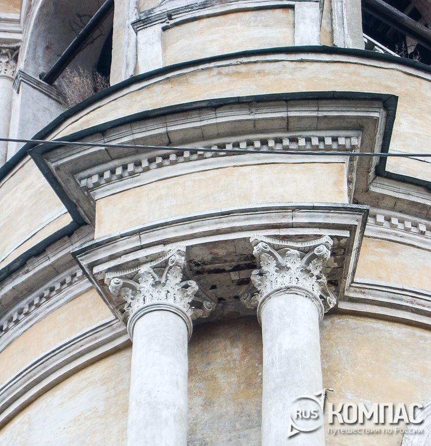 Фрагменты декора церкви Спаса Преображения под Горой (Казанской)