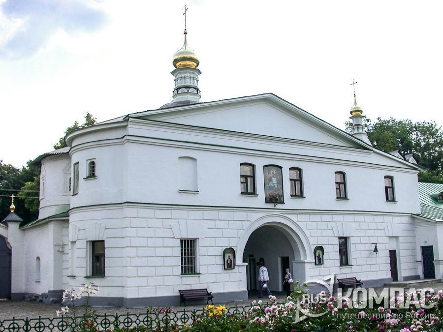 Церковь Николая Чудотворца в Борисоглебском монастыре