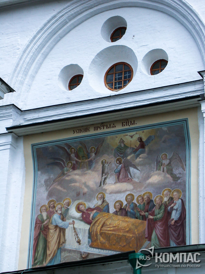 Фреска Успенского собора