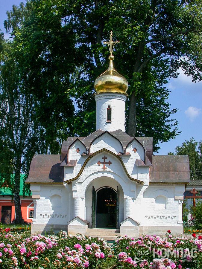 Часовня Сошествия Святого Духа в Борисоглебском монастыре