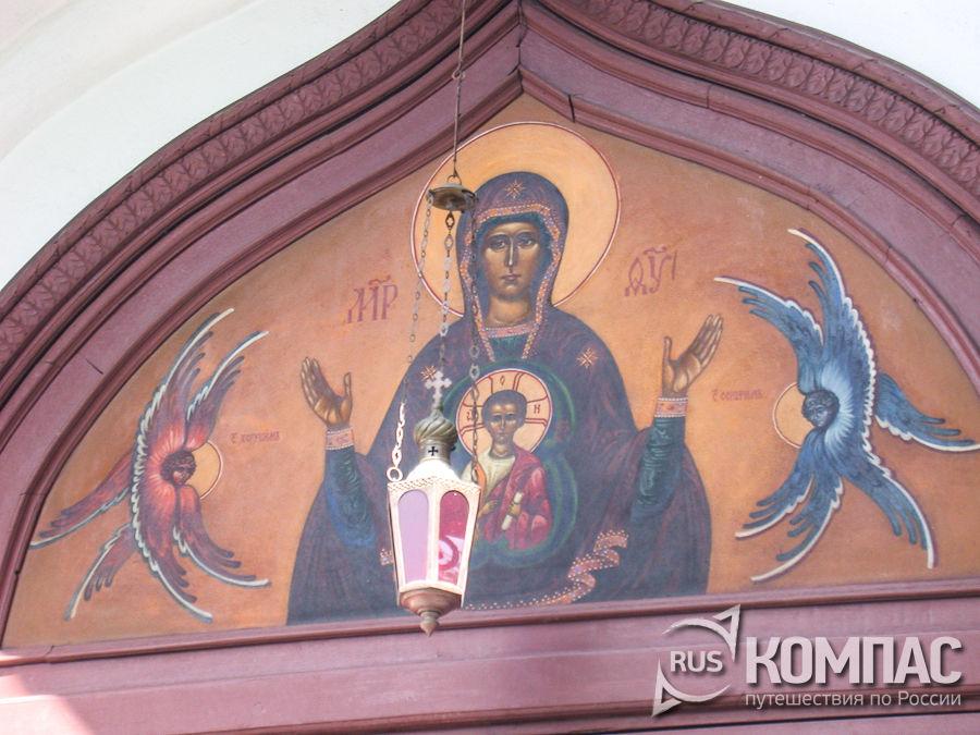 Фреска Борисоглебского монастыря