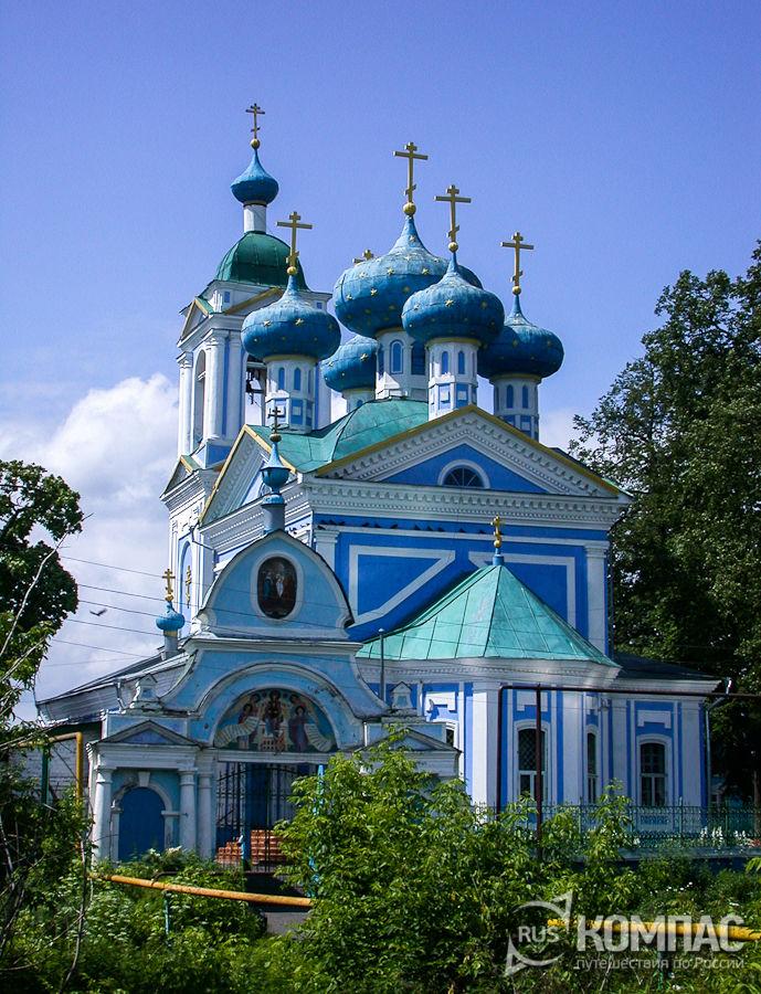 Сретенская церковь в Кубинцево