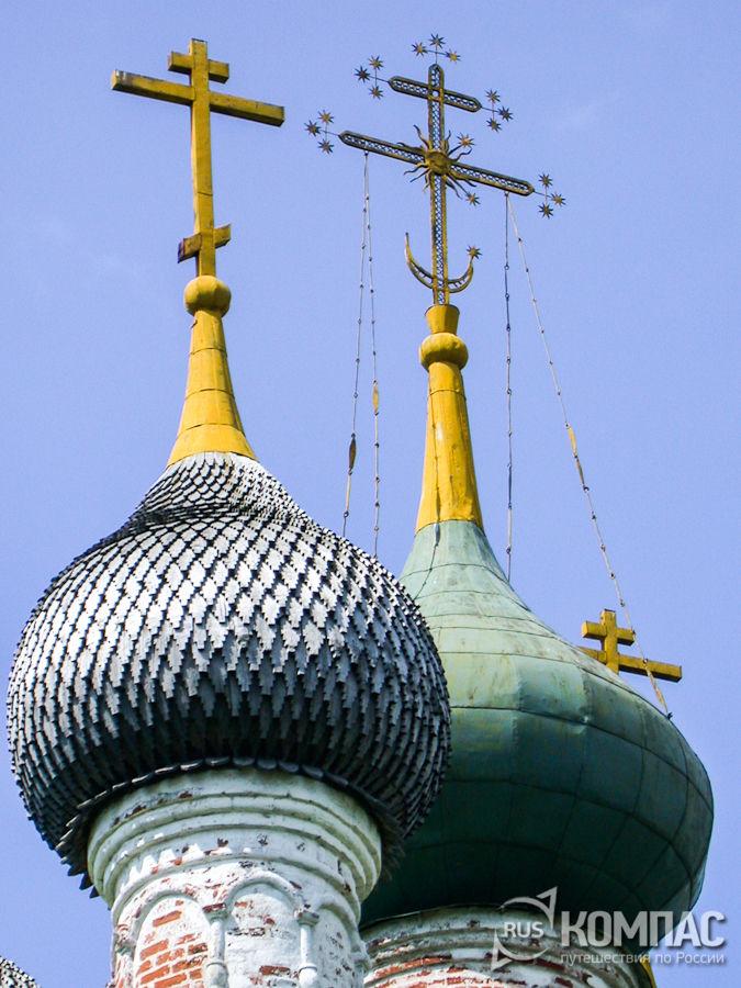 Купола Спасской церкви