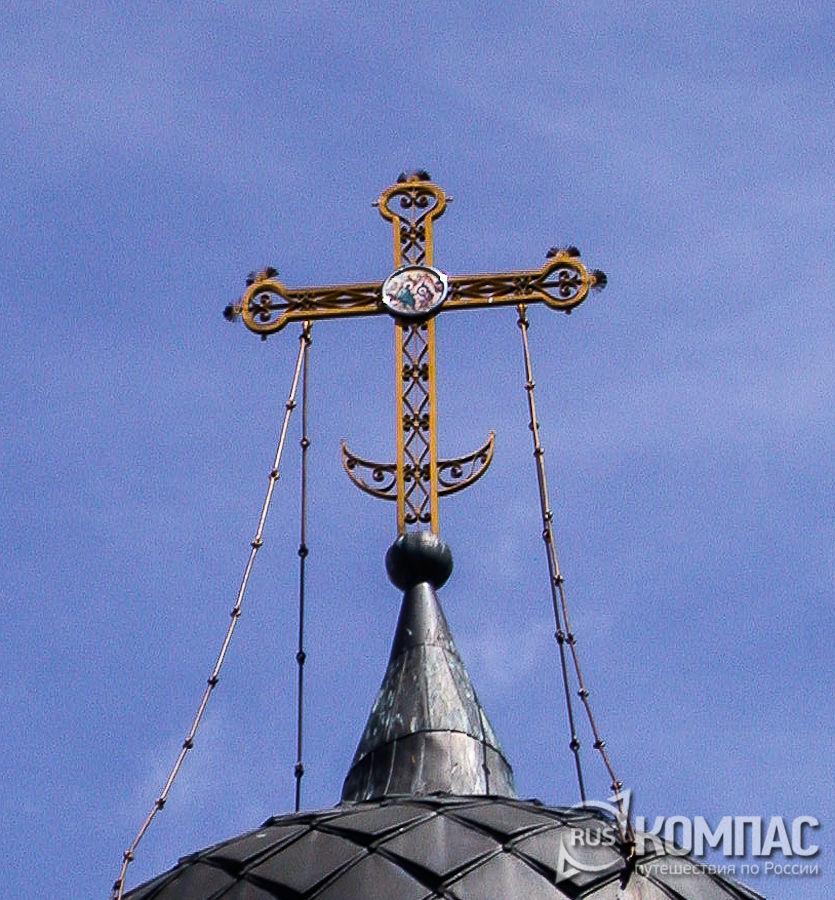 Купол Христорождественской церкви