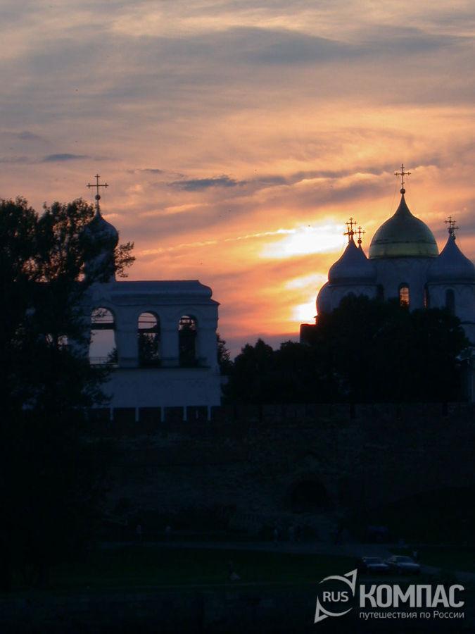 Закат на Софийской стороне