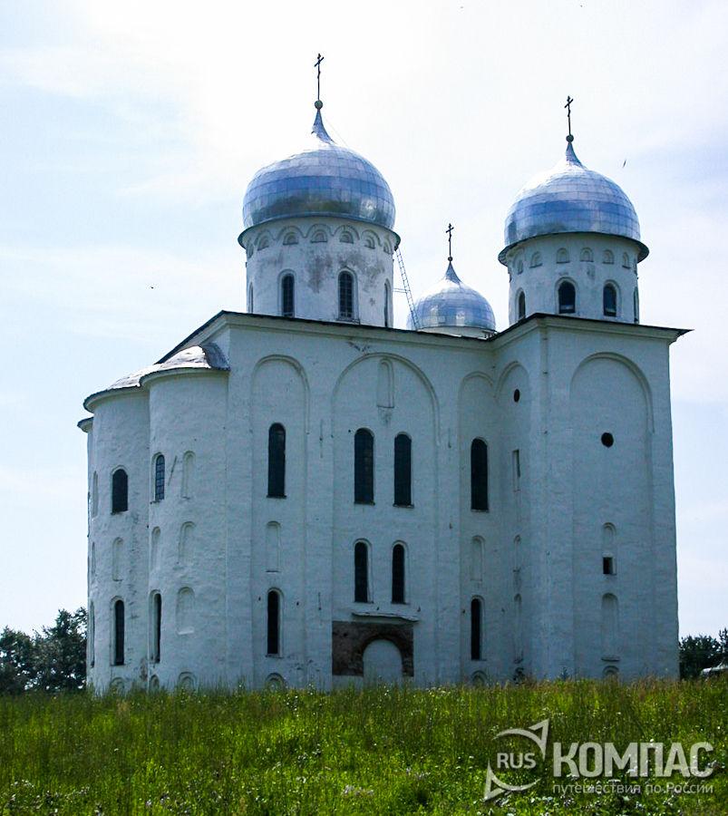 Собор Георгия Победоносца Юрьев монастырь