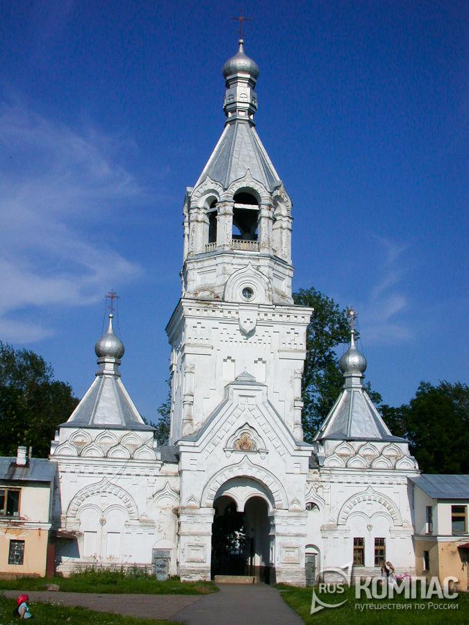 Колокольня Десятинного Рождественского монастыря