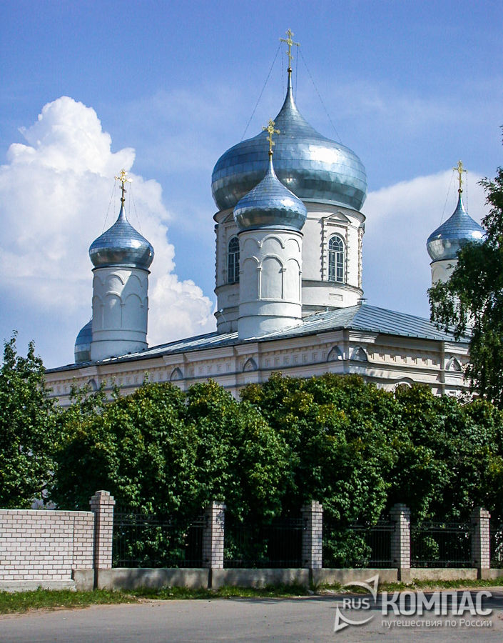 Покровский собор Зверин-Покровского монастыря
