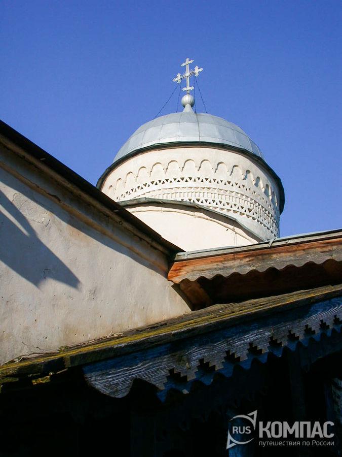 Купол церкви Димитрия Солунского