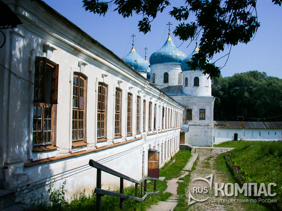 Северный корпус Юрьева монастыря