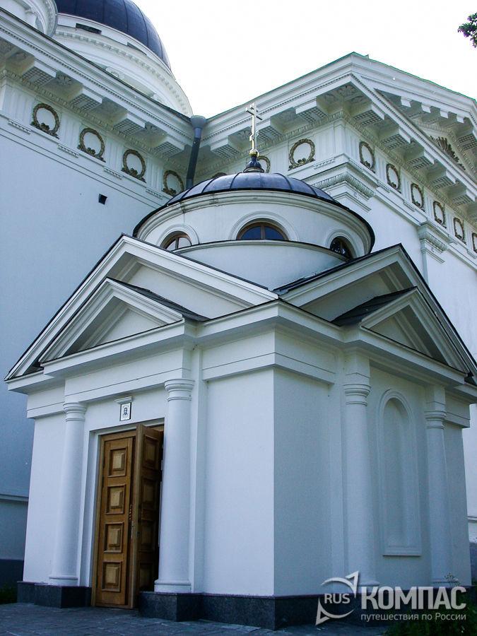 Часовня-усыпальница при Спасском Староярмарочном соборе