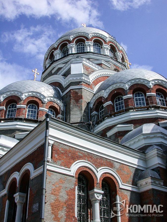 Главы Преображенского собора в Сормове