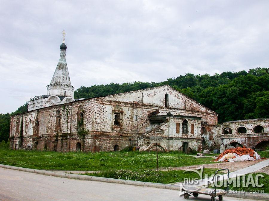 Церковь Успения Пресвятой Богородицы в Вознесенском Печерском монастыре