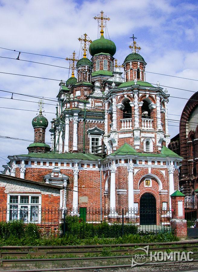 Церковь Смоленской Божьей Матери в Гордеевке (Строгановская)