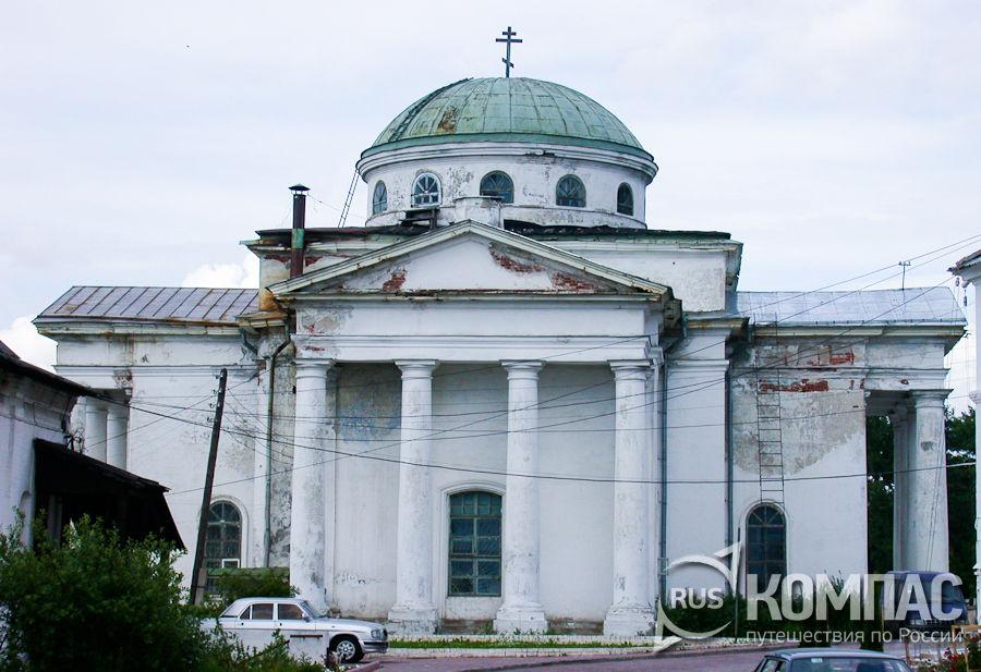 Южный фасад Алексеевской церкви в Благовещенском монастыре
