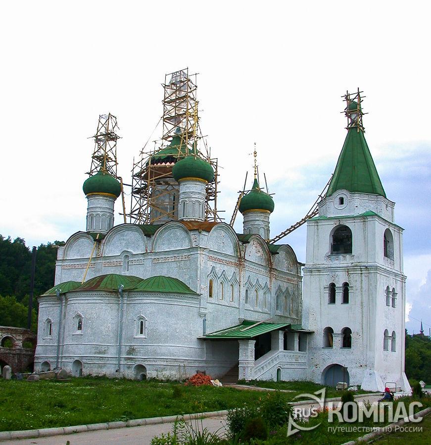 Вознесенский собор в Вознесенском Печерском монастыре