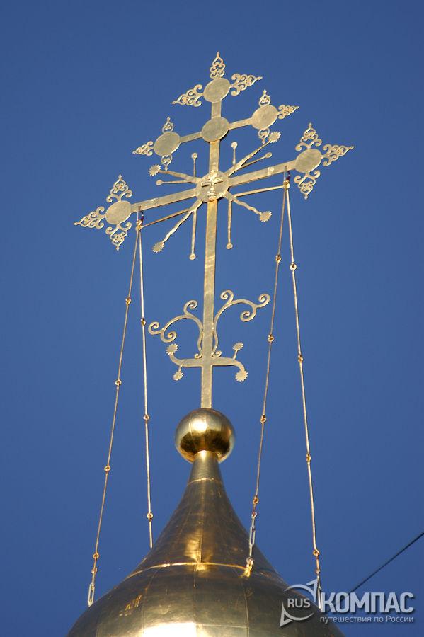 Крест колокольни Мироносицкой церкви