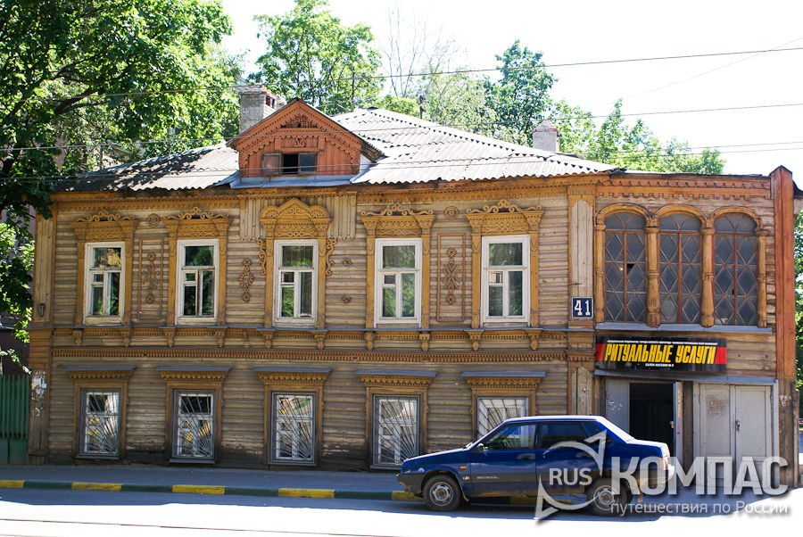 Главный дом усадьбы Е.И. Богоявленской