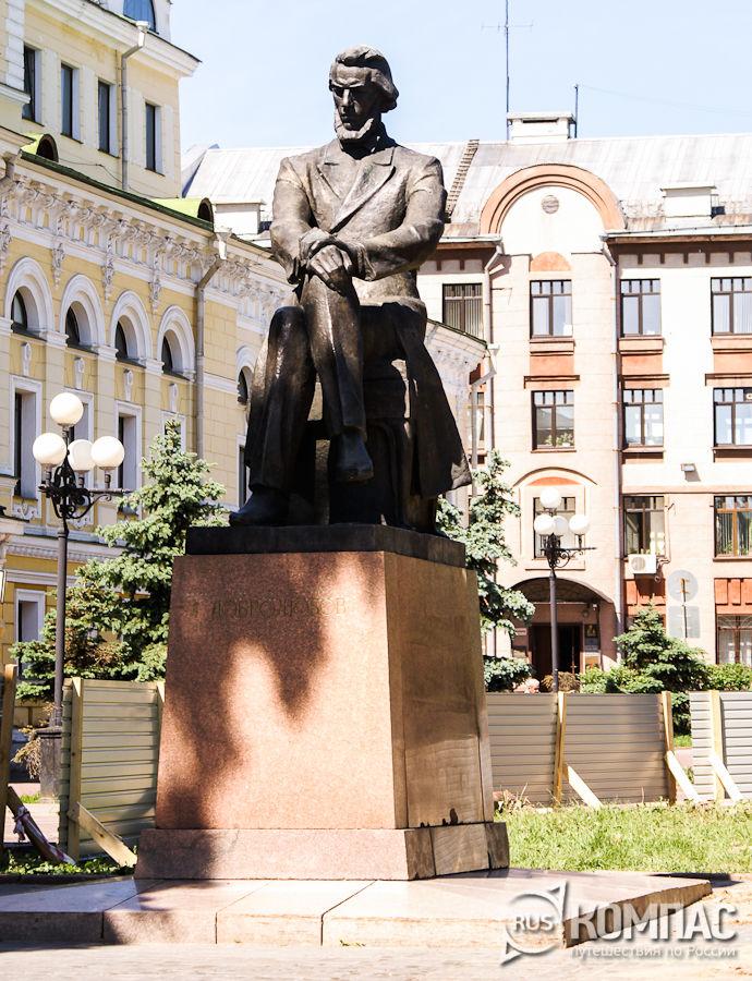 Памятник Н.А. Добролюбову