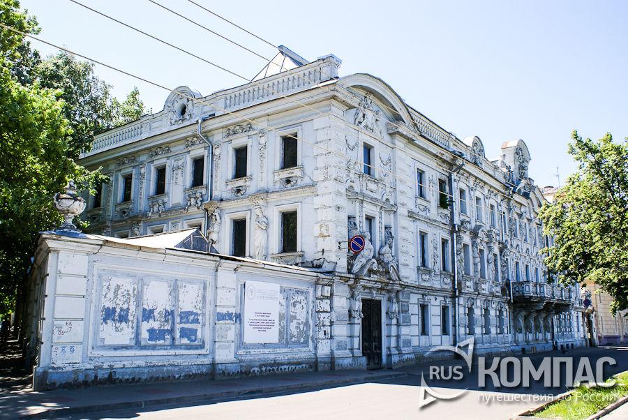 Усадьб Рукавишниковых до реставрации