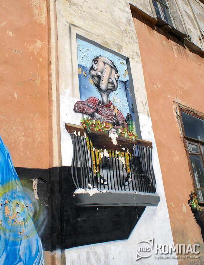 Нижегородские граффити