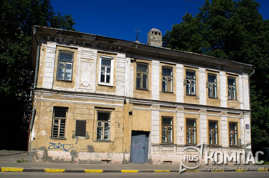 Дом декабриста И.А. Анненкова