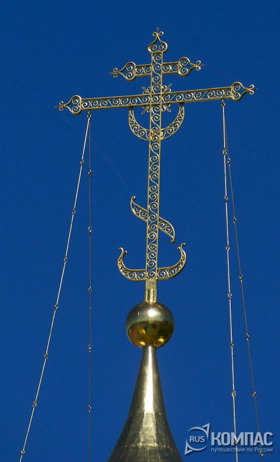Крест Ильинской церкви