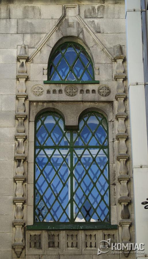 Каменный наличник на здании Государственного банка