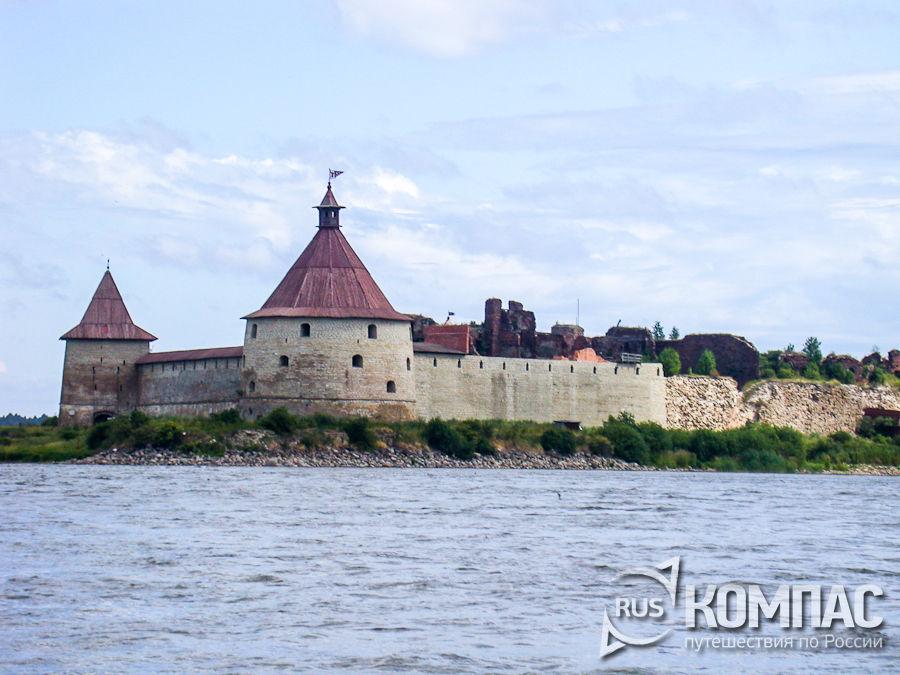 Крепость Орешек со стороны города