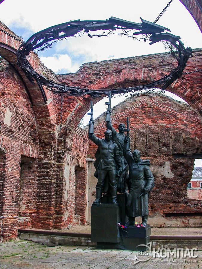 Мемориальный комплекс, посвященный обороне крепости в 1941-1943 гг.