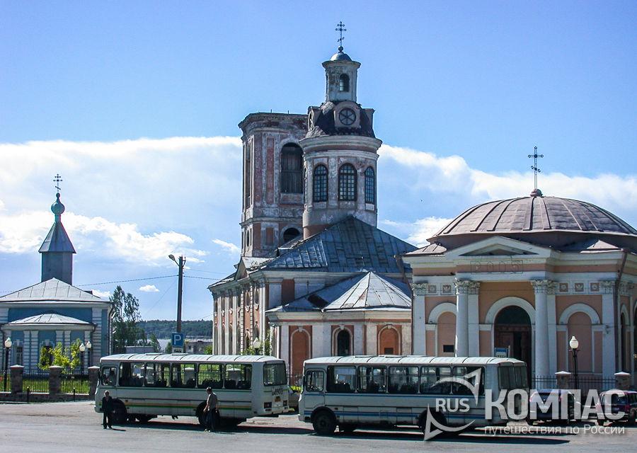 Храмовый комплекс собора Благовещения Пресвятой Богородицы и церкви Николая Чудотворца