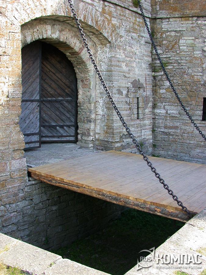 Подъемный мост в Государевой (Воротной) башне
