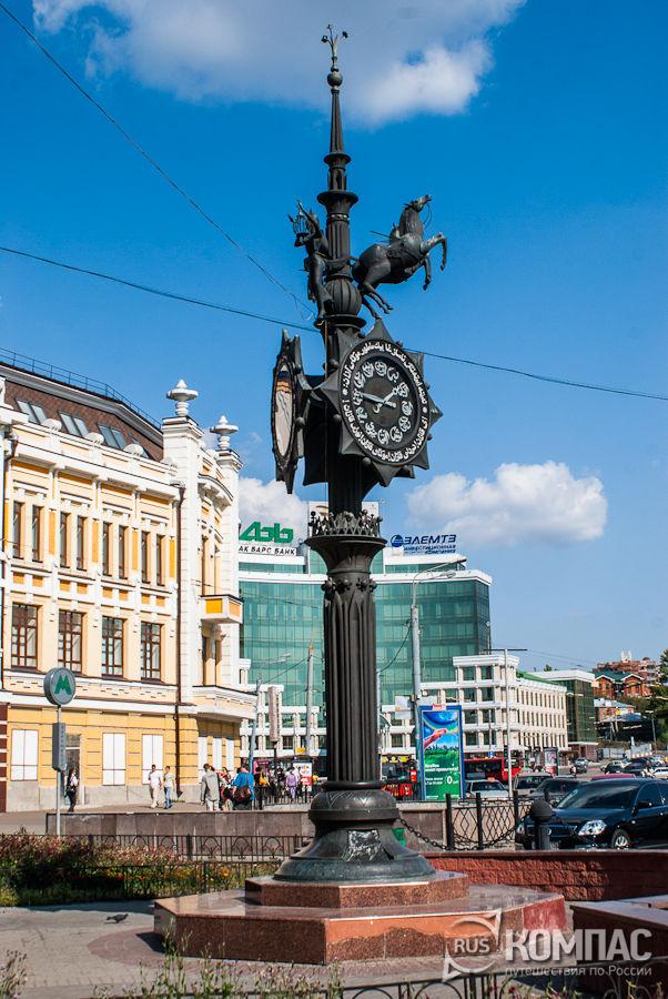 Часы в конце ул. Баумана