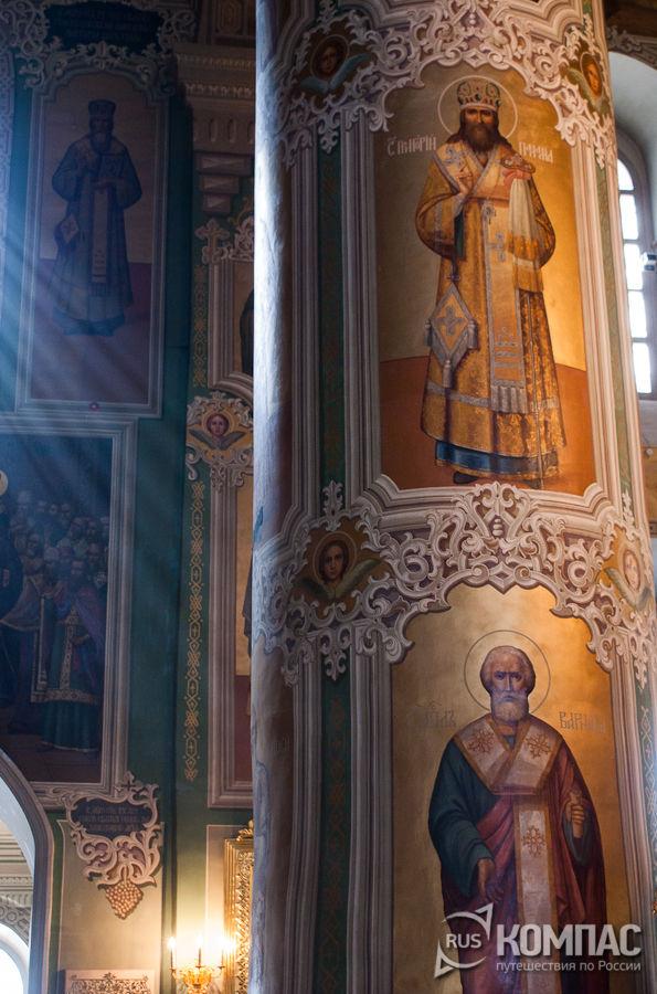 Фрагмент росписи Благовещенского собора