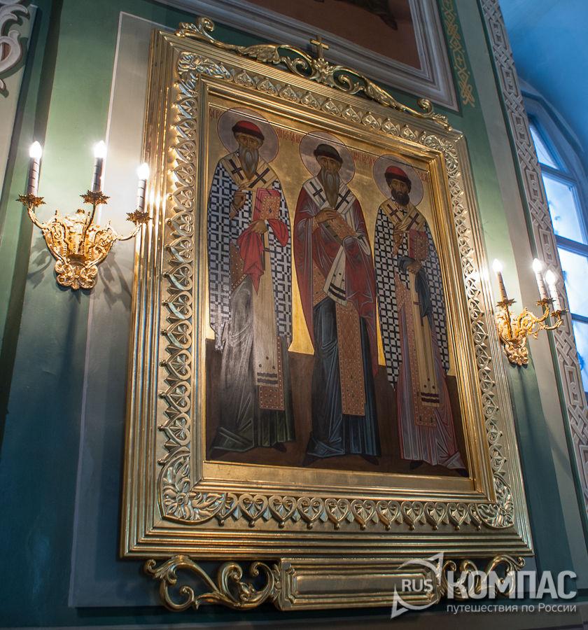 Икона в Благовещенском соборе