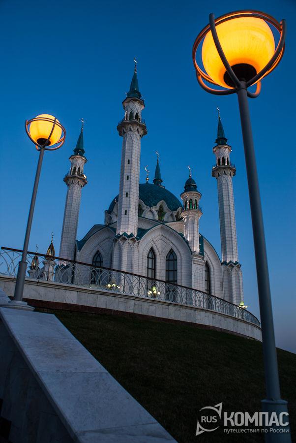Мечеть Кул Шариф вечером